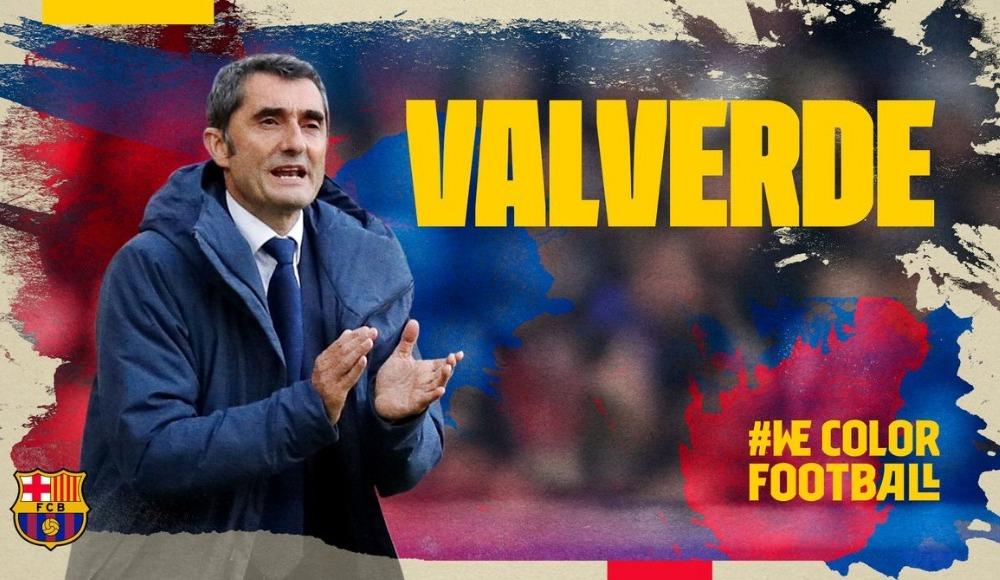 Barcelona, Valverde ile uzattı!