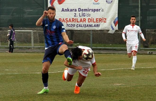 Ankara Demirspor evinde Yılport Samsunspor'a 1-0 mağlup oldu