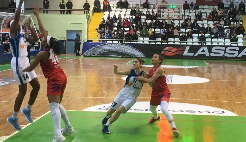 Mersin Büyükşehir Belediyespor, deplasmanda İzmit Belediyespor'u 94-65 yendi