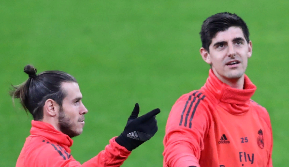 "Courtois'dan Gareth Bale eleştirisi! ""Bale'i tarif etmek..."""