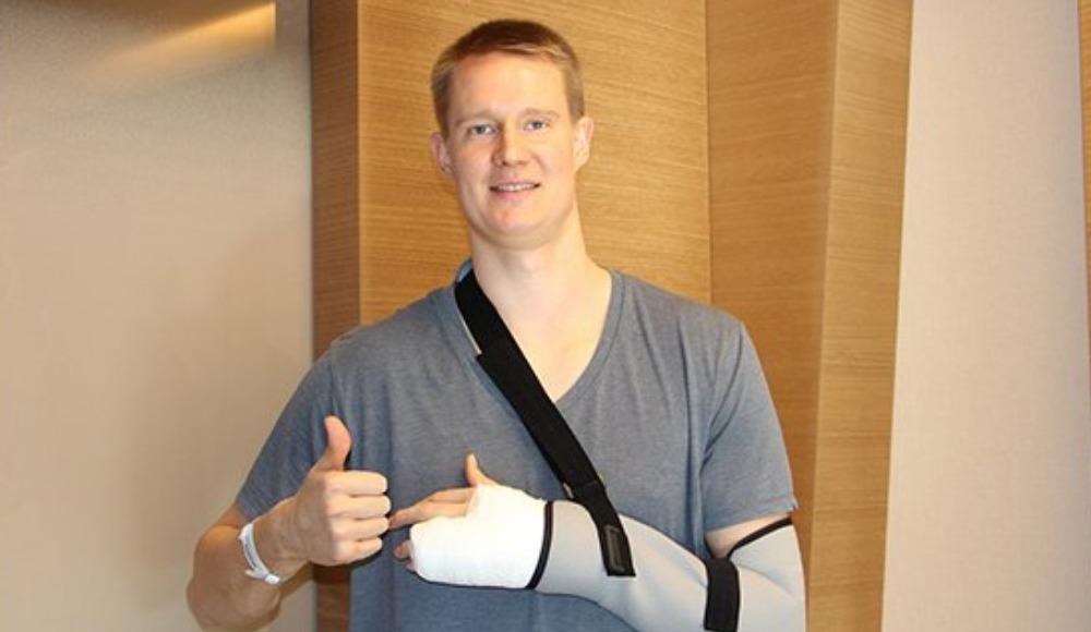 Beşiktaş'ta Robin Benzing ameliyat edildi