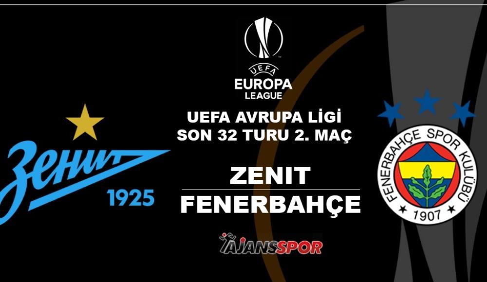 Zenit - Fenerbahçe (Canlı Skor)