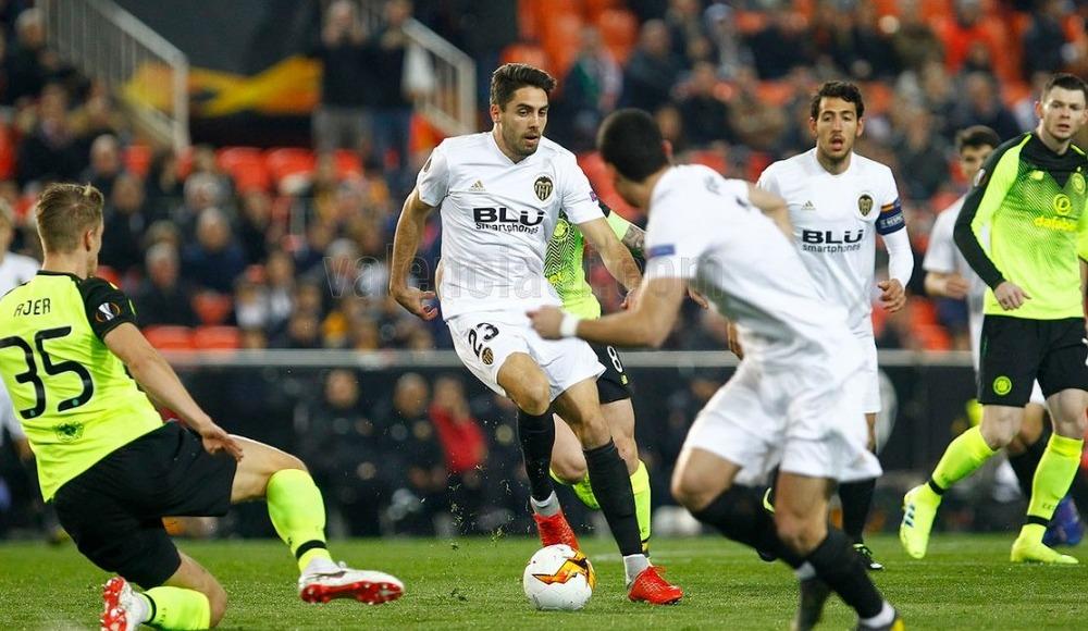 Valencia, Celtic'i 1-0 yendi ve son 16'ya kaldı