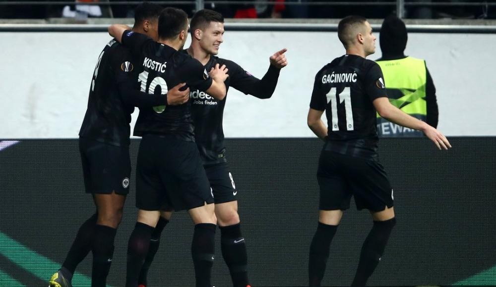 Eintracht Frankfurt, Shakhtar Donetsk'i farklı geçti ve son 16'ya kaldı