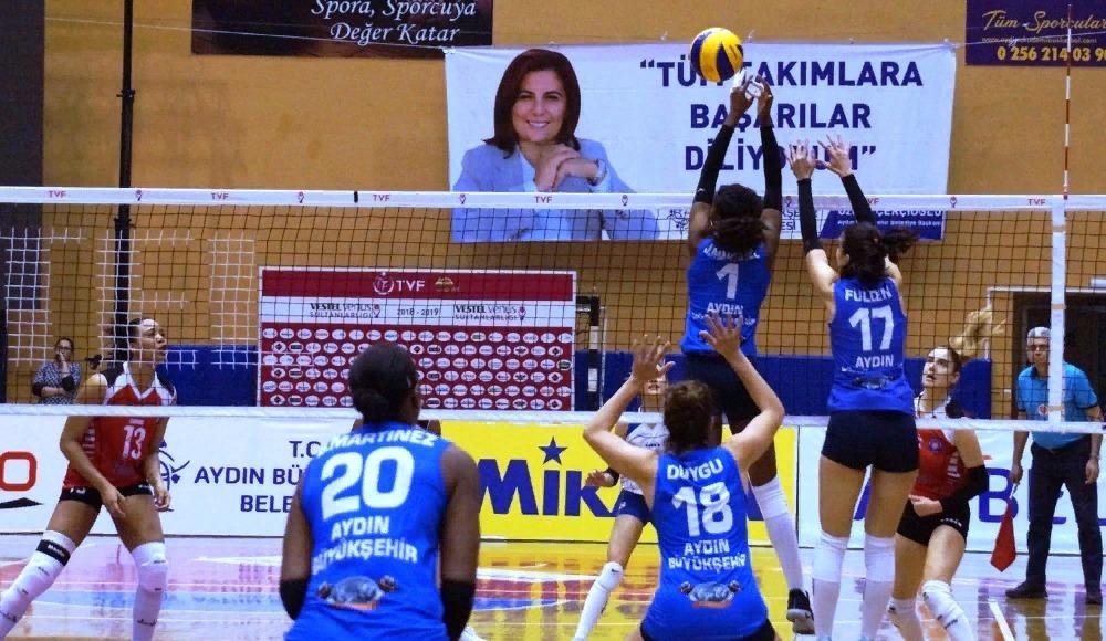 Aydın Büyükşehir Belediye, Halkbank'a set vermedi!