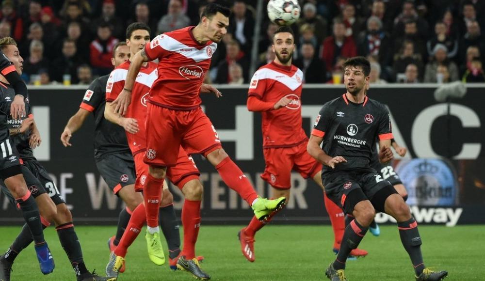 Özet - Fortuna Düsseldorf, Kaan Ayhan'ın son dakika golüyle kazandı