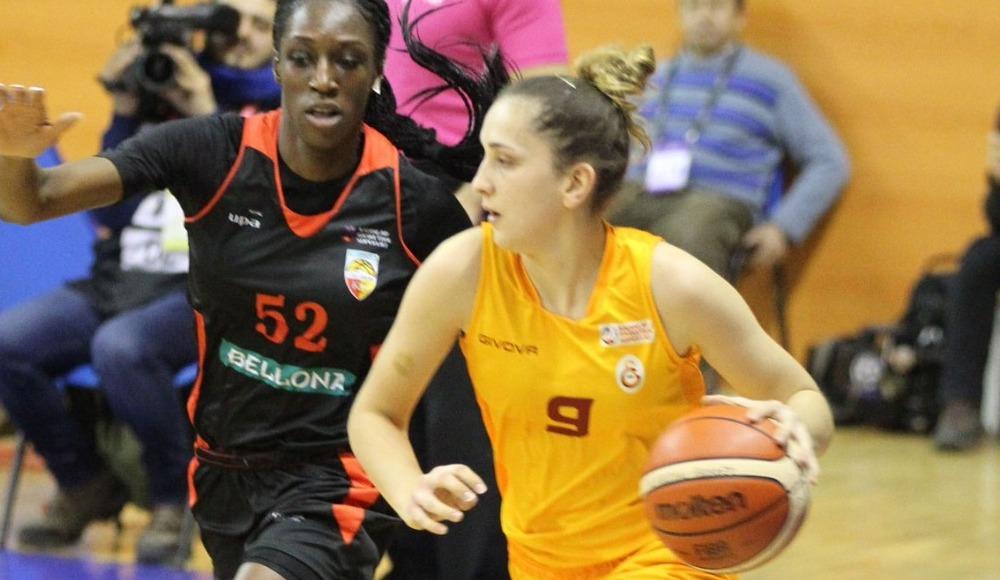 Galatasaray, Bellona Kayseri Basketbol'u 75-69 yendi