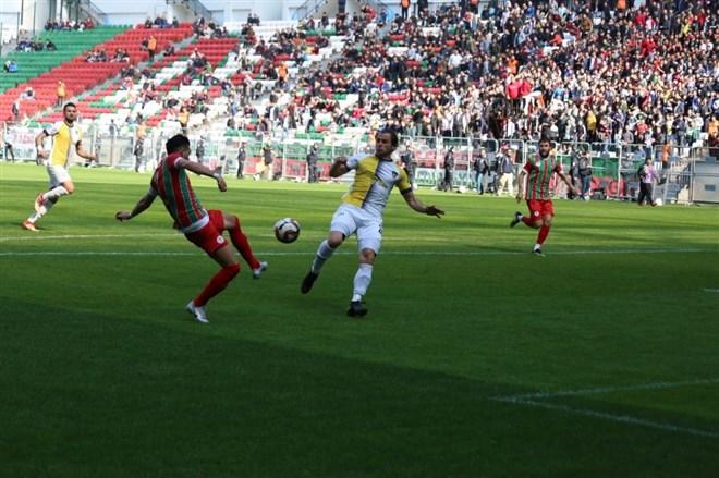 Diyarbekirspor, sahasında Bucaspor ile 1-1 berabere kaldı