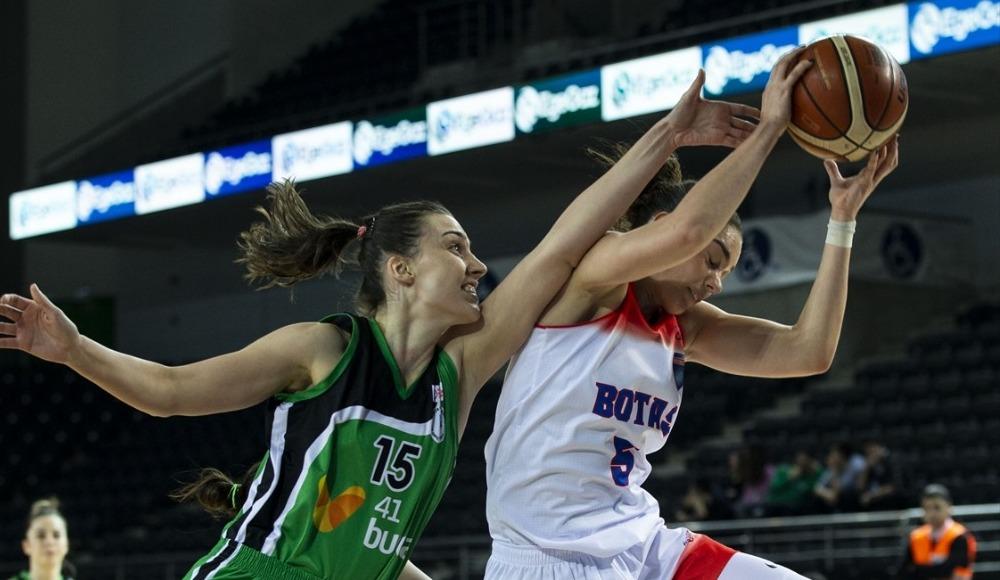 BOTAŞ, İzmit Belediyespor'u 76-53 mağlup etti
