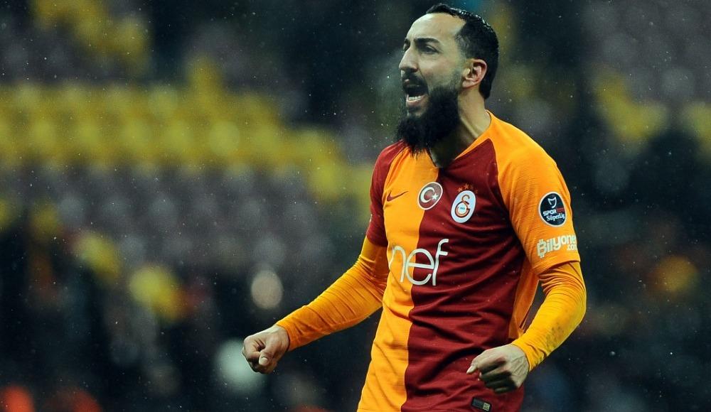 Kostas Mitroglou, Evkur Yeni Malatyaspor karşılaşmasını tribünden takip ediyor