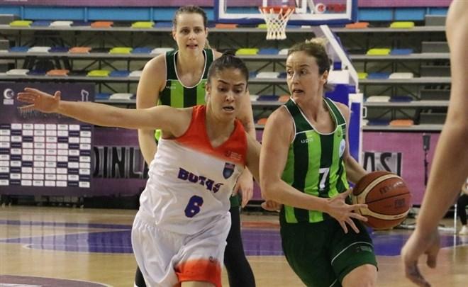 Kadınlar Türkiye Kupasında Botaş adını yarı finale yazdıran ilk takım oldu