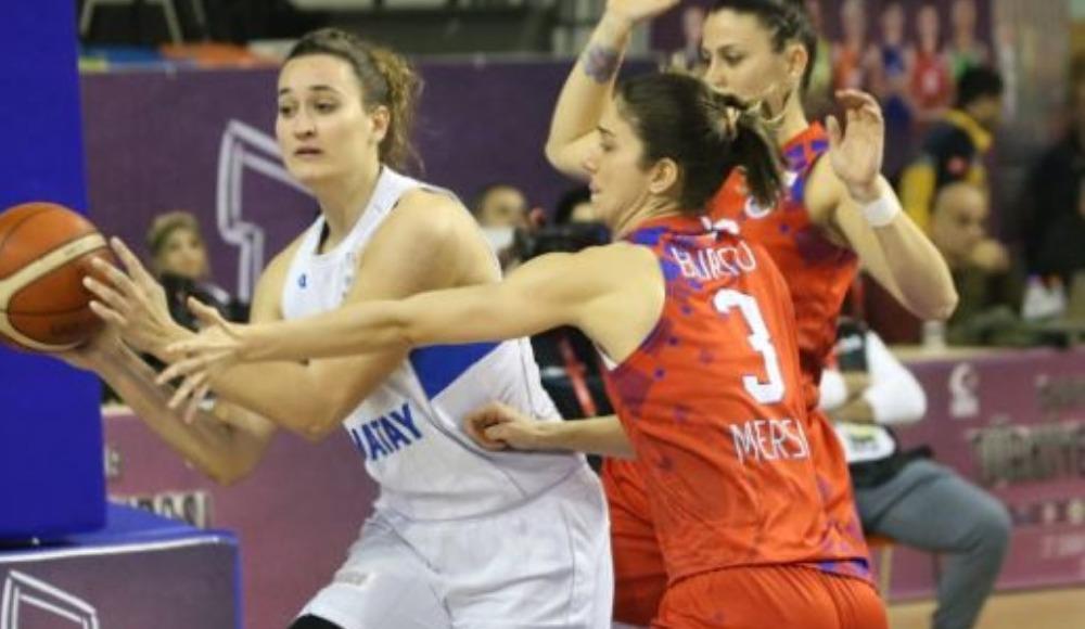 Mersin BB, Hatay Büyükşehir Belediyespor'u 79-76 yenerek yarı finale yükseldi