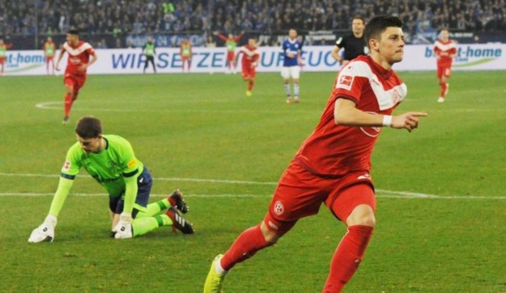 Özet - Fortuna Düsseldorf, Schalke'yi deplasmanda ezdi geçti! 0-4