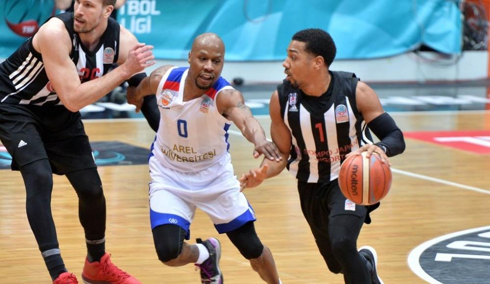 Beşiktaş Sompo Japan, konuk ettiği Büyükçekmece Basketbol'u 90-84 yendi