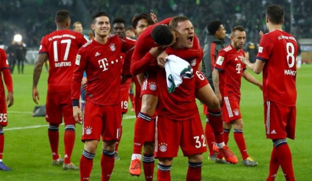 Özet - Dortmund'un puan kaybettiği haftaya Bayern Münih deplasmanda farka gitti! 1-5