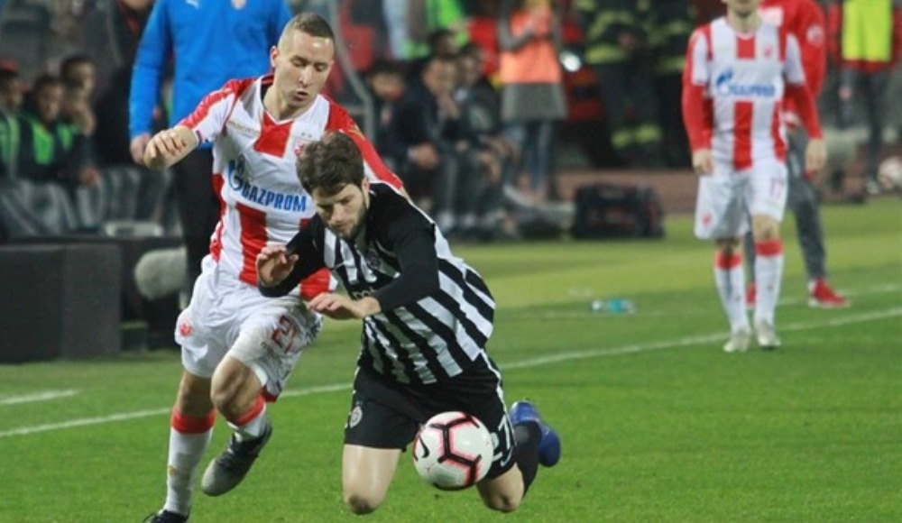 Kızılyıldız ile Partizan, Belgrad derbisinde 1-1 berabere kaldı