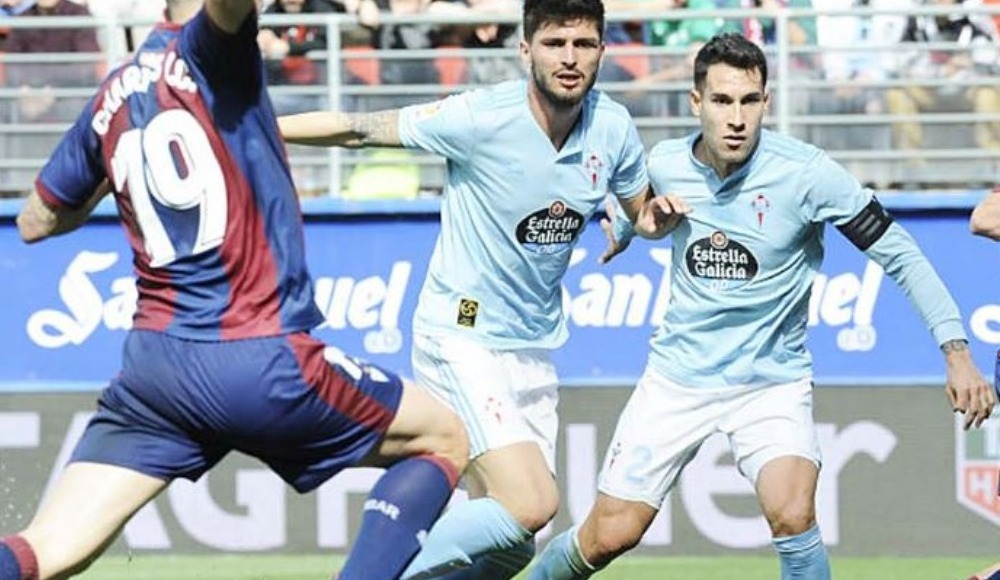 Celta Vigo, deplasmanda Eibar'a mağlup oldu