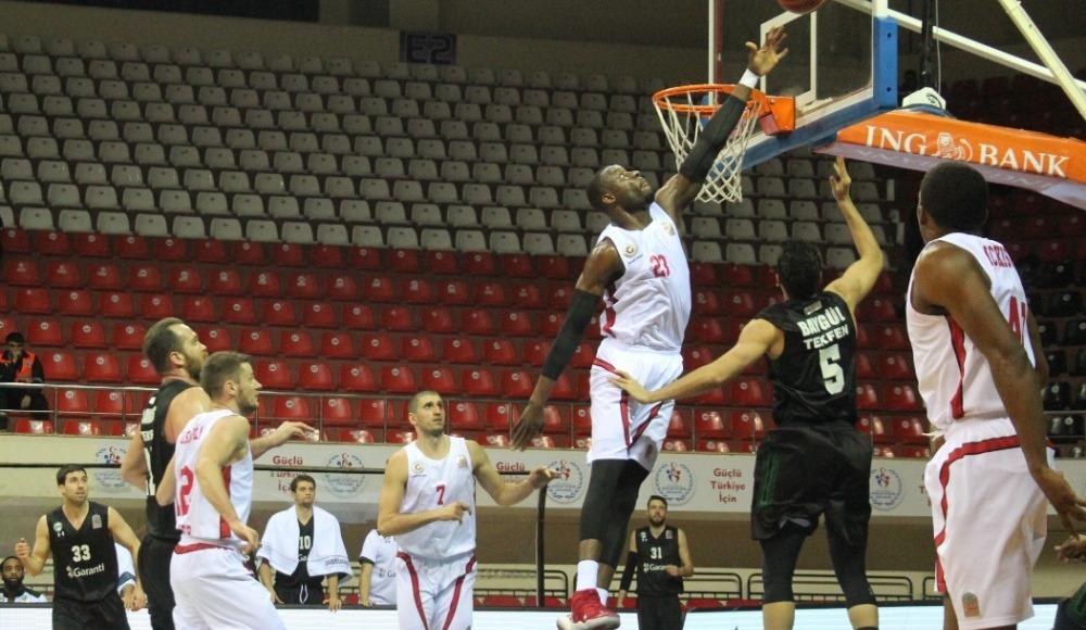 Gaziantep Basketbol durdurulamıyor