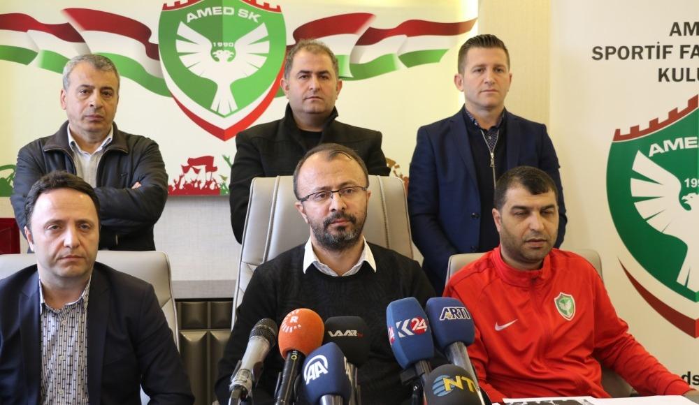 """Amedspor'dan 'jilet' açıklaması: """"Mansur Çalar'ın elinde..."""""""