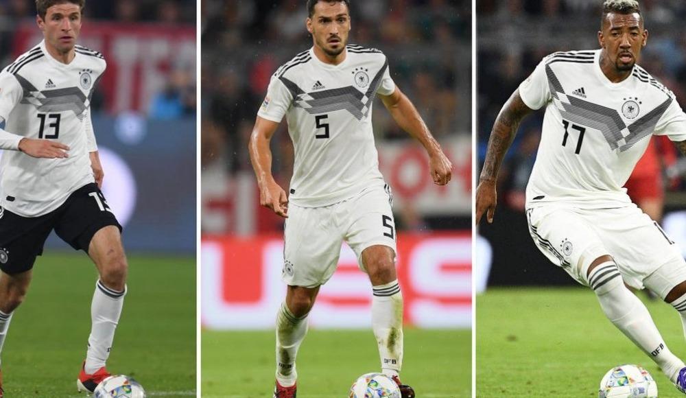 Joachim Löw'den flaş karar! 3 oyuncu bir daha daha milli takıma çağırmayacak...
