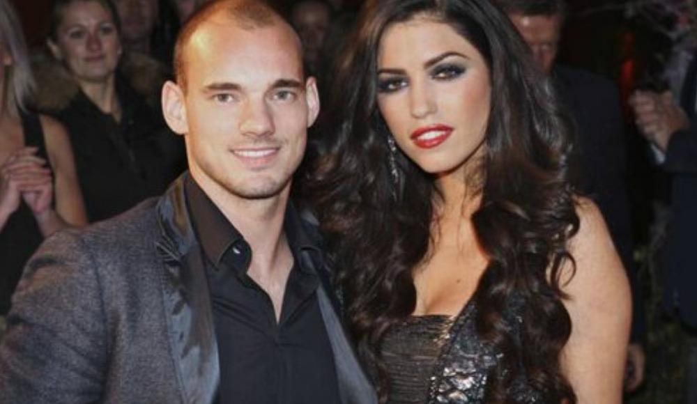 Wesley Sneijder ve Yolanthe Cabau çifti boşandı