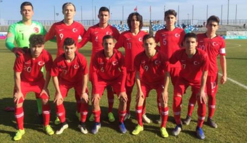 16 Yaş Altı Milli Futbol Takımı, Hırvatistan ile berabere kaldı