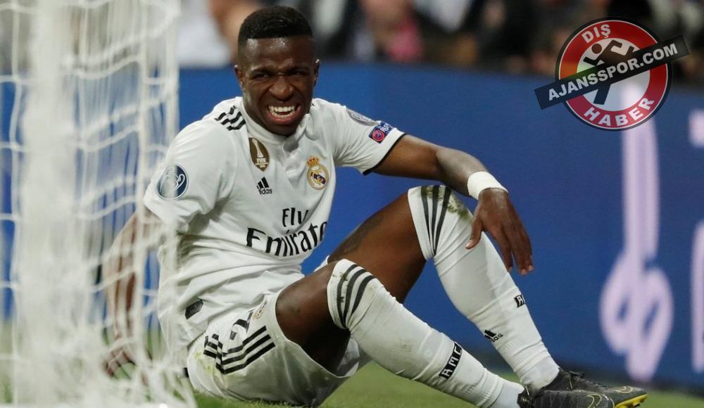 Real Madrid'de Vinicius Junior şoku! 2 ay yok...