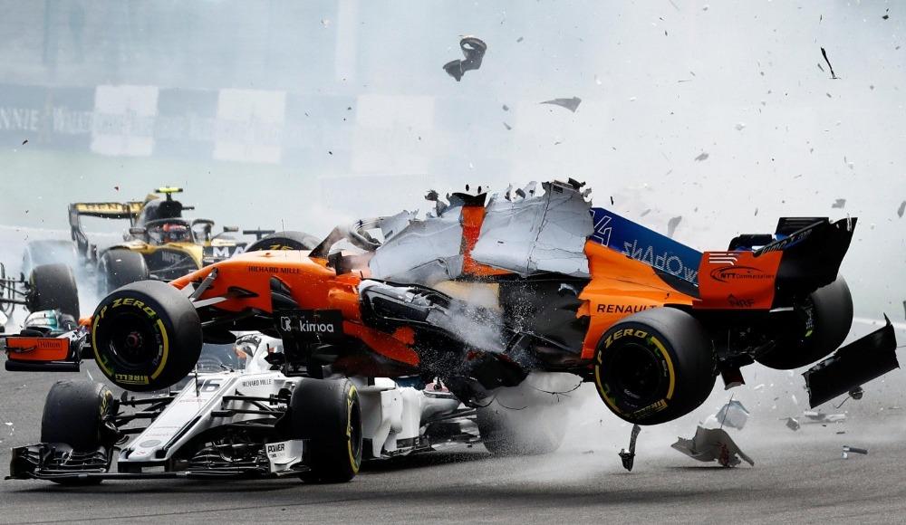 Video - Formula 1'de geçen sezona damga vuran kazalar