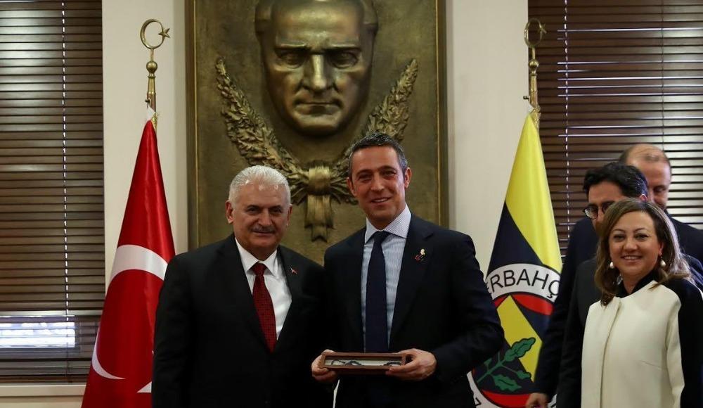 Binali Yıldırım, Fenerbahçe Kulübü'nü ziyaret etti