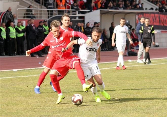 Kastamonuspor 1966, sahasında Yılport Samsunspor'u 1-0 yendi