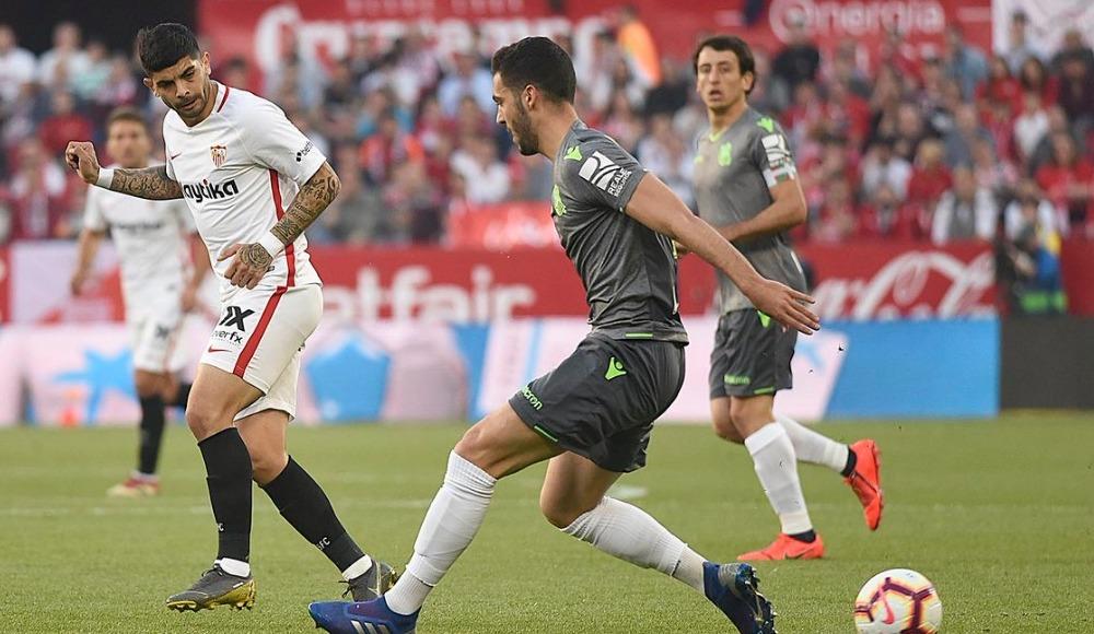 Sevilla sahasında Real Sociedad'ı gole boğdu! 5-2
