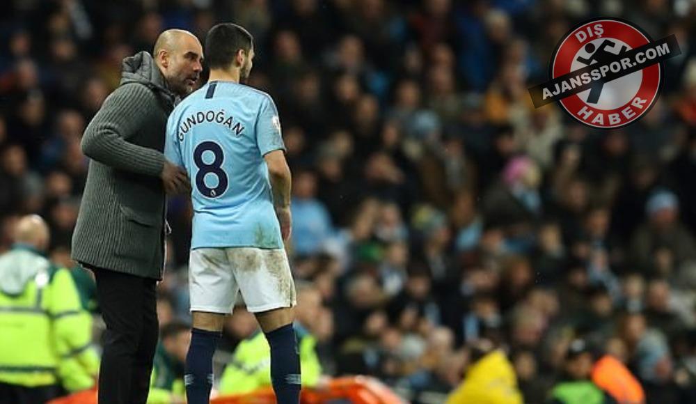 İlkay Gündoğan, Manchester City'den ayrılıyor mu? Guardiola açıkladı
