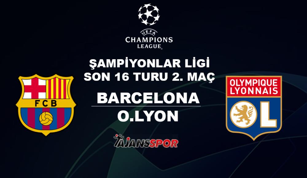 Barcelona - Lyon (Canlı Skor)