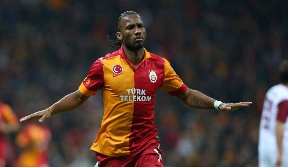 Galatasaray'da Drogba sevinci!