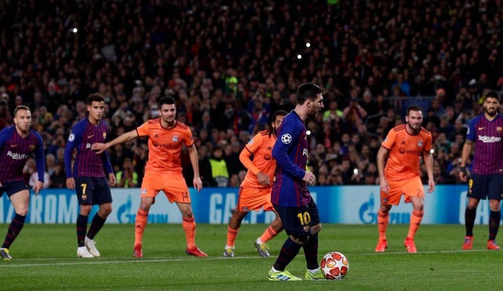 Barcelona, Lyon'u ezdi geçti!