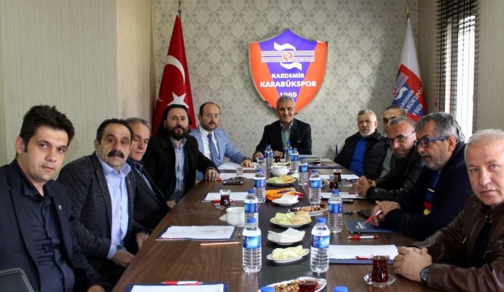 Karabükspor yönetiminde görev dağılımı yapıldı
