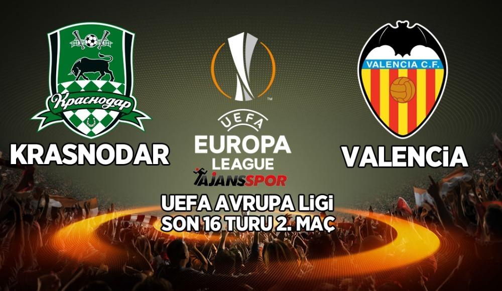 Krasnodar - Valencia (Canlı Skor)