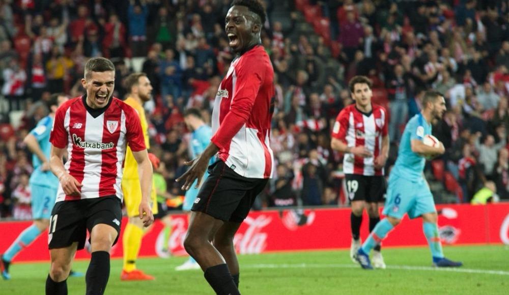 Athletico Madrid'e bir çelme de Athletic Bilbao'dan!