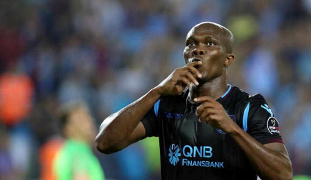 Nwakaeme, Trabzonspor'u sırtlıyor