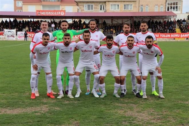 Nevşehir Belediyespor, Karaköprü Belediyespor ile berabere kaldı
