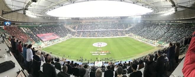 Bursaspor - Galatasaray maçında duygusal anlar yaşandı