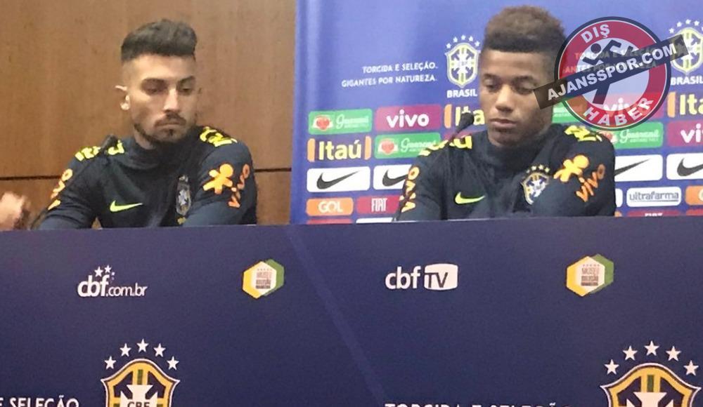 """Alex Telles: """"Brezilya Milli takımı benim en büyük hayalimdi"""""""