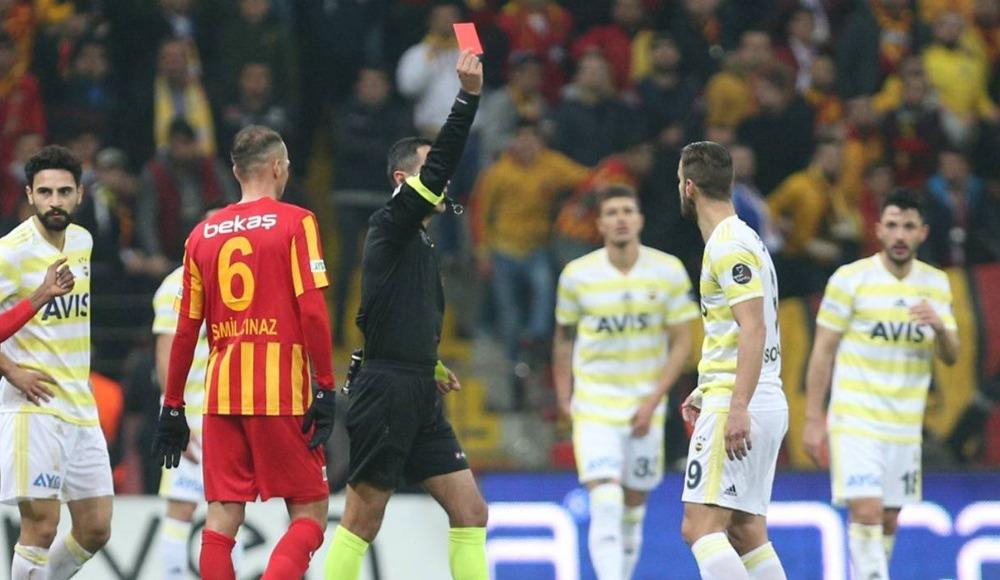 Süper Lig'in en hırçın takımı oldular! İşte 26 haftalık kart raporu!