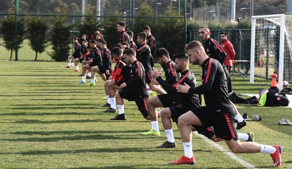 Ümit Millilerde Arnavutluk maçı hazırlıkları sürüyor