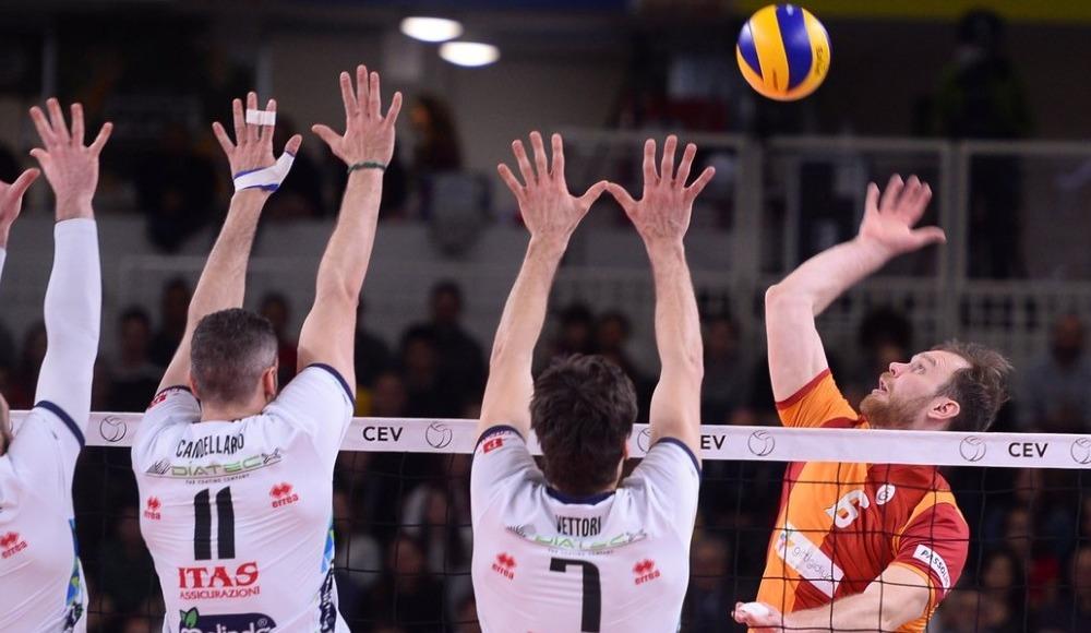 Galatasaray, Trentino Itas ekibine 3-0 yenildi