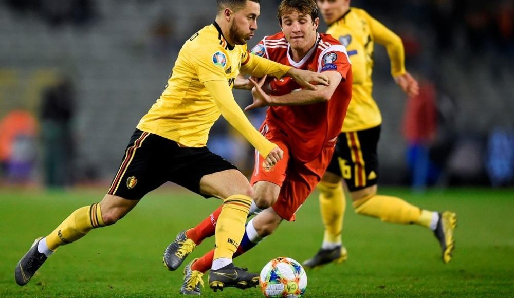 Belçika Rusya'yı Eden Hazard ile geçti!