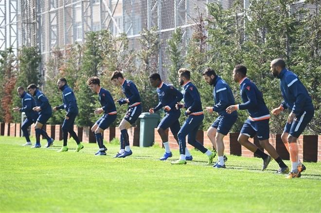 Başakşehir'de Konyaspor hazırlıkları
