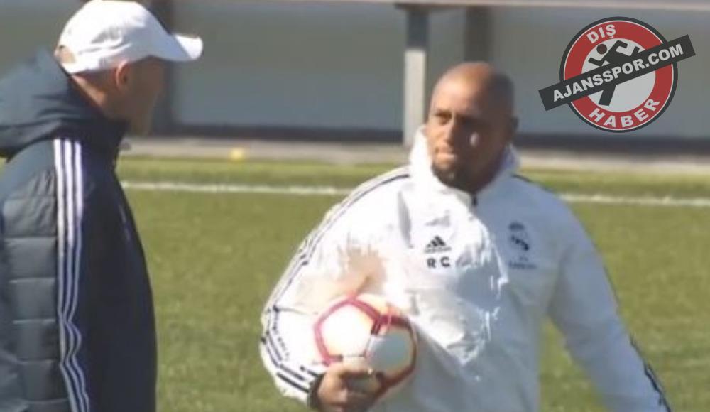 Zinedine Zidane'ın yardımcısı Roberto Carlos oldu