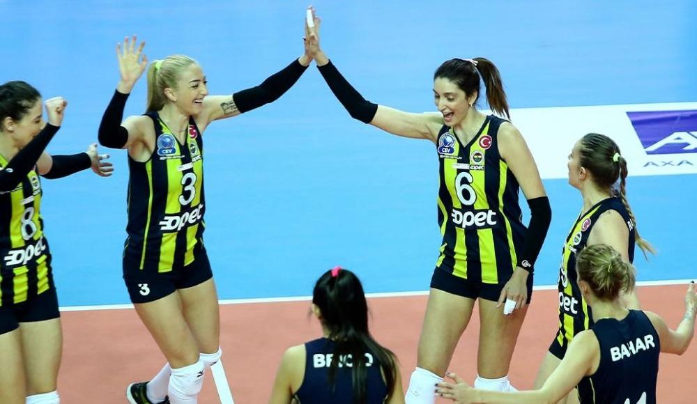 Fenerbahçe Opet yarı finale yükselen son takım oldu