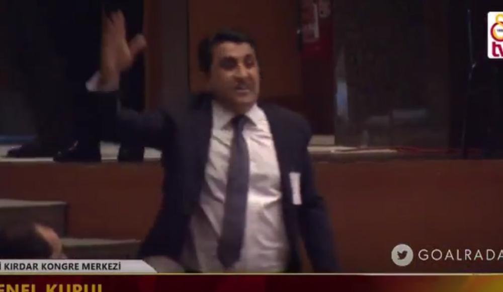 Video - Galatasaray Genel Kurulu karıştı! Salondan attılar!